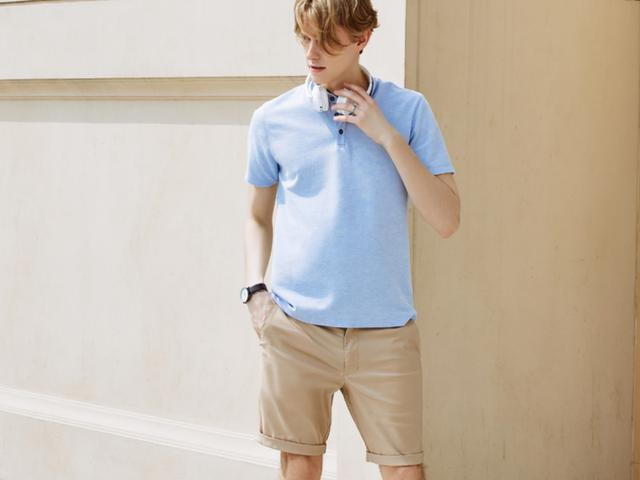 短裤的基础穿搭,喜欢穿短裤的男生多看看