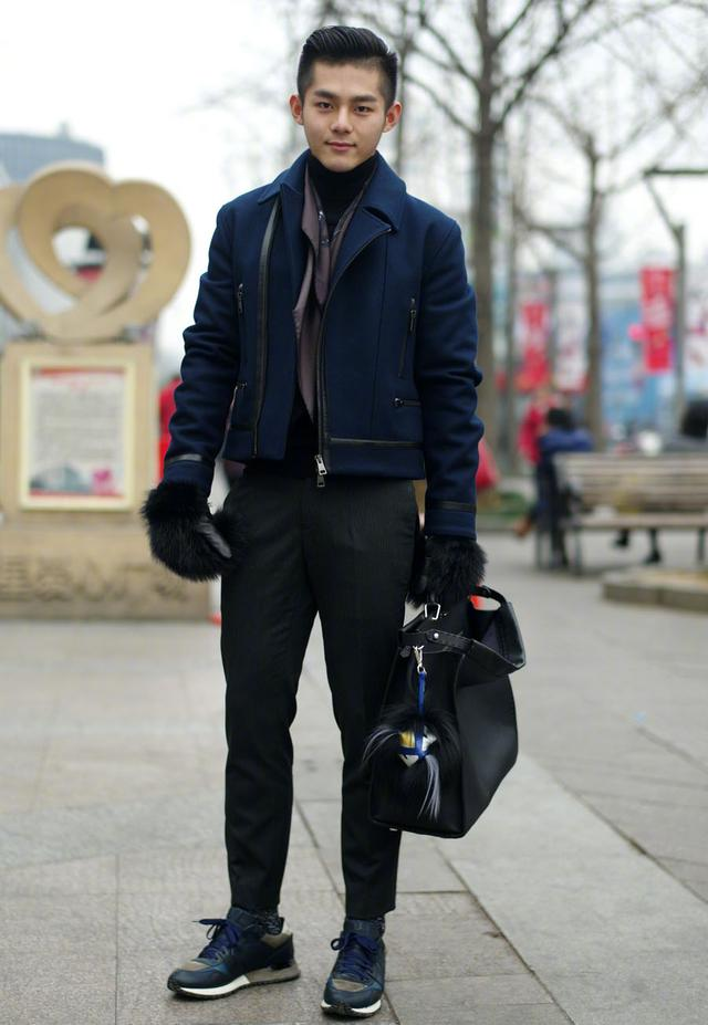 不会穿的男生,学街头潮男这样穿,从邋遢男变暖男